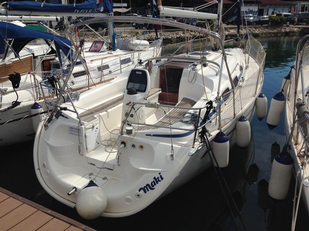 Bavaria 33 Cruiser, Maki