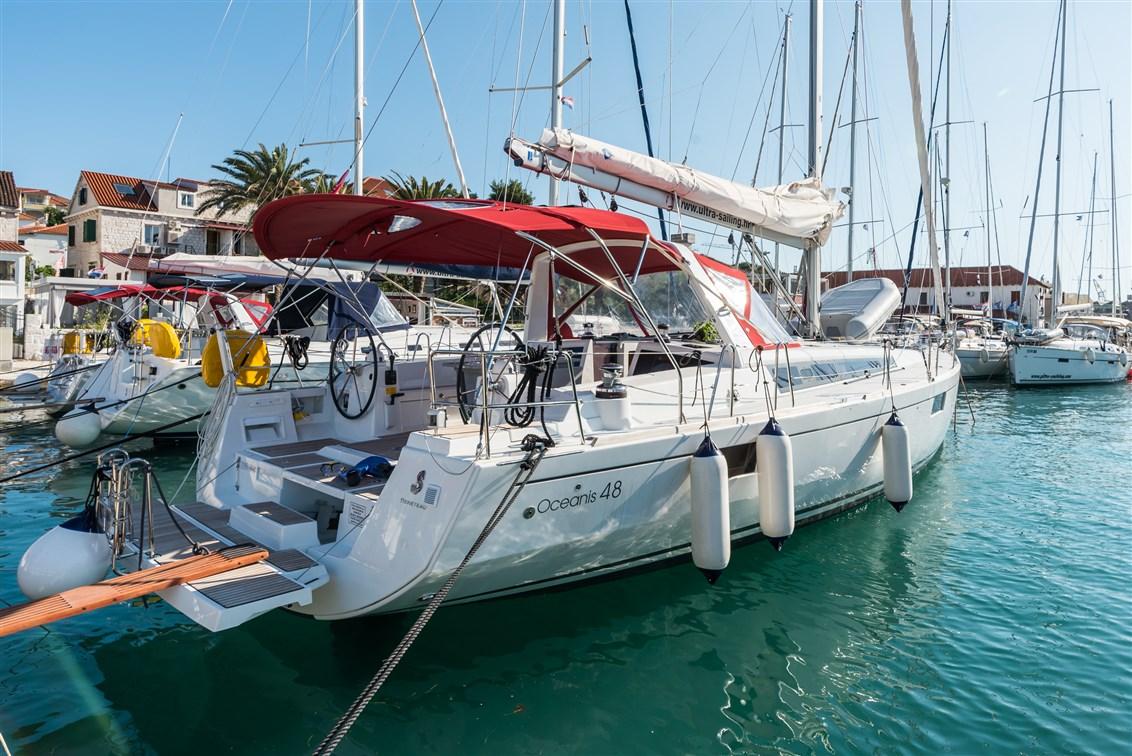Croatia charter boat sailing