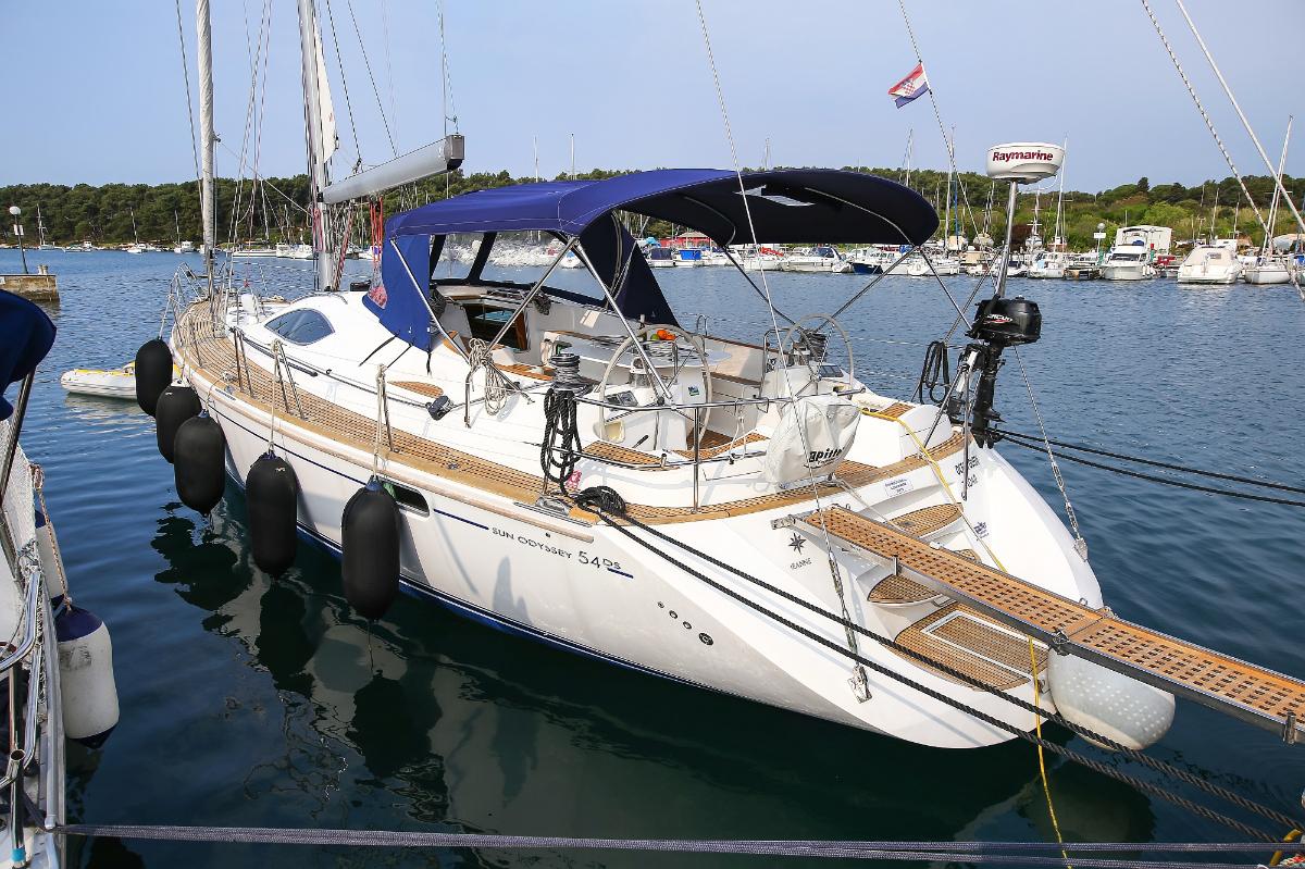 Sun Odyssey 54 DS - Pula, Croatia