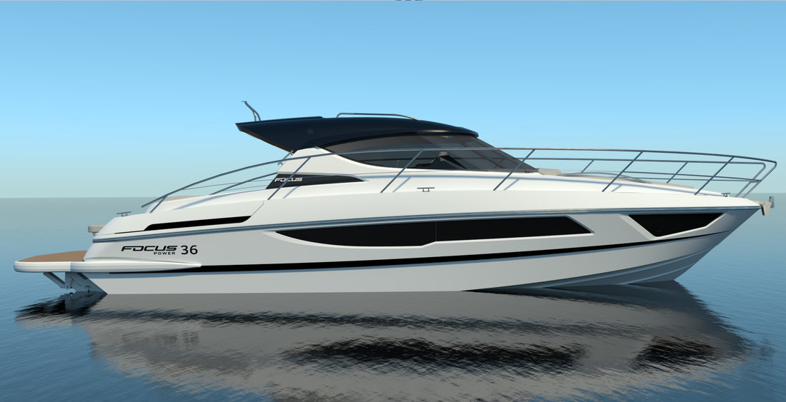 Focus Power 36 Hard Top - M/y NEW