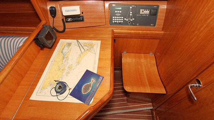 Bavaria 38 Cruiser, Delmat