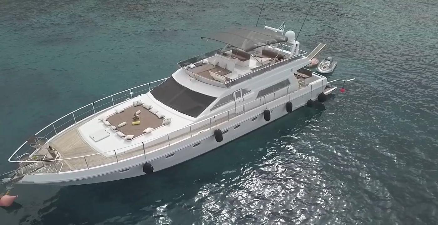 Ferretti Yachts 58