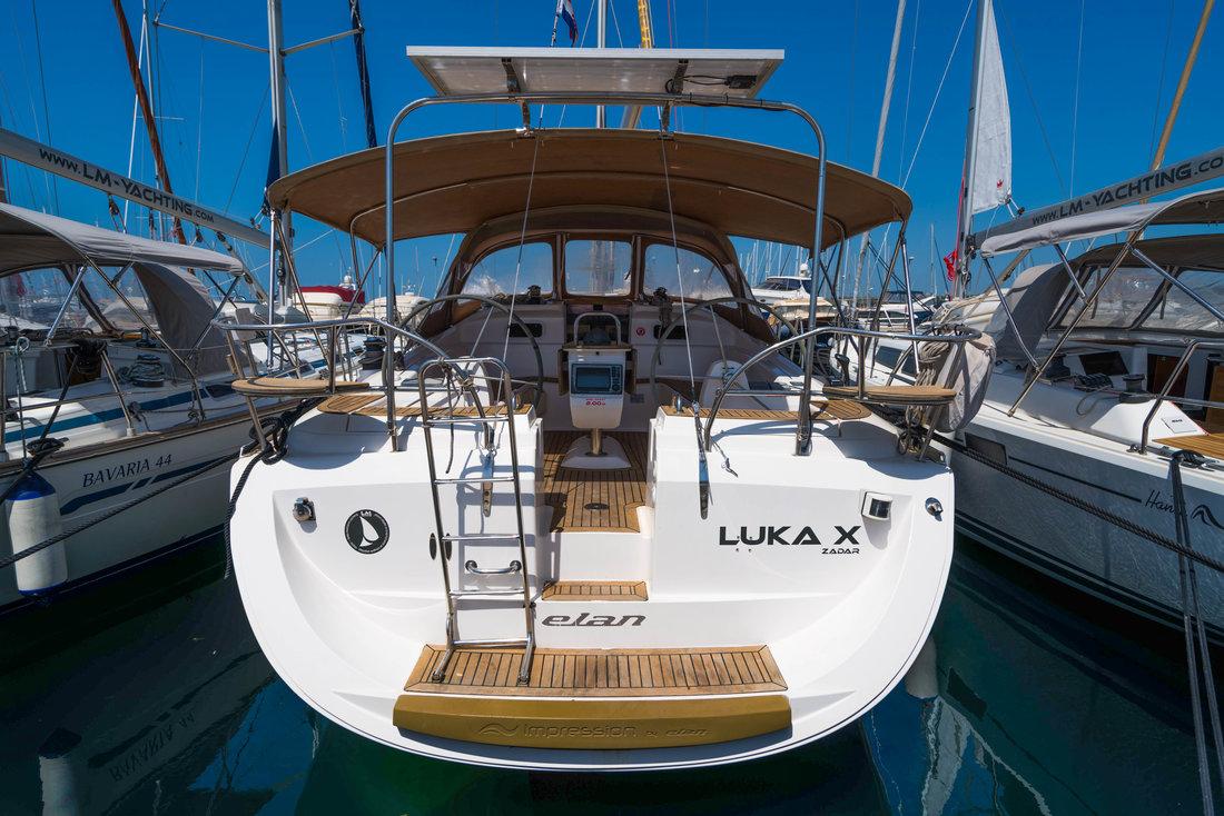 Elan 434 Impression, Luka X