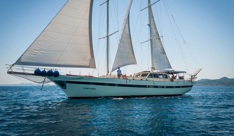 Crewed yachts Fortuna