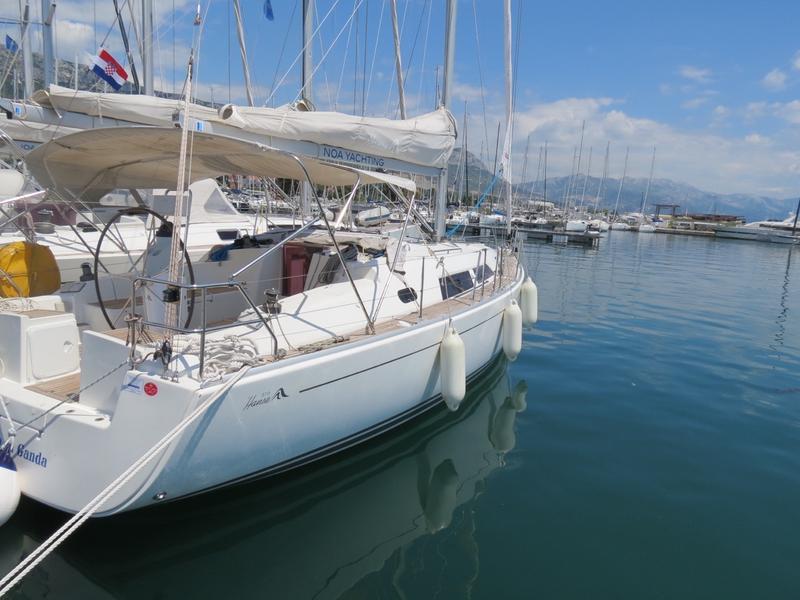 Yacht Vaco da Ganda