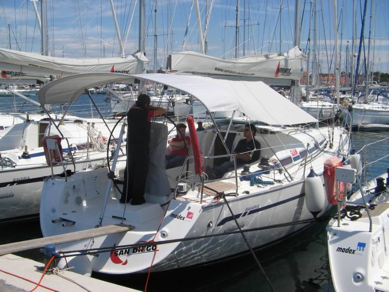 Bavaria 42 Match, Saint Martin 61