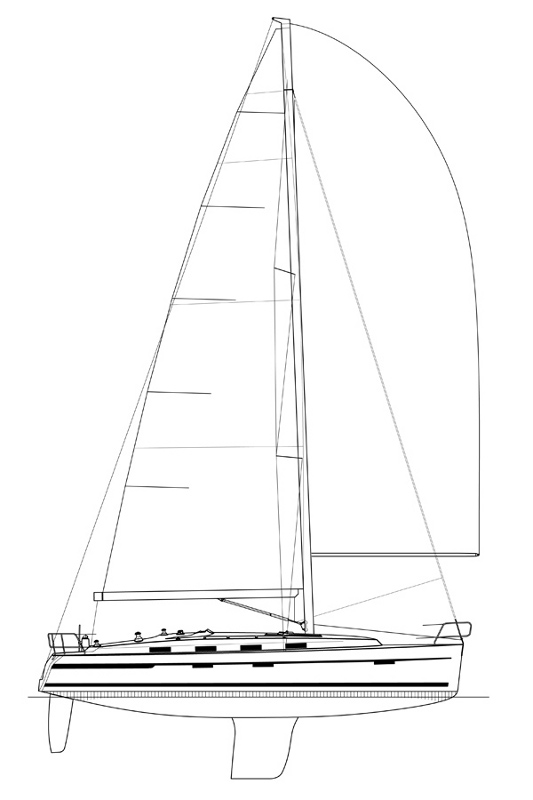 Bavaria Cruiser 40 S, Hurricane 22