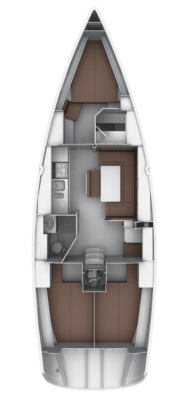 Bavaria Cruiser 40 S, Casablanca 23