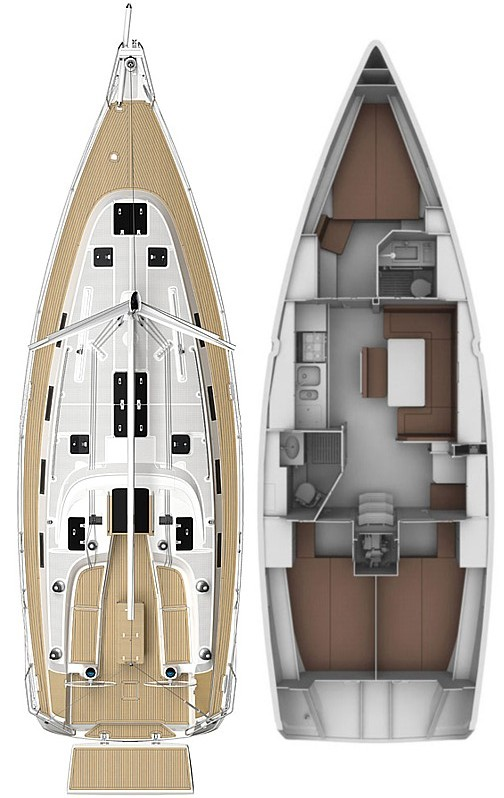 Bavaria Cruiser 40 S, Black Magic 27