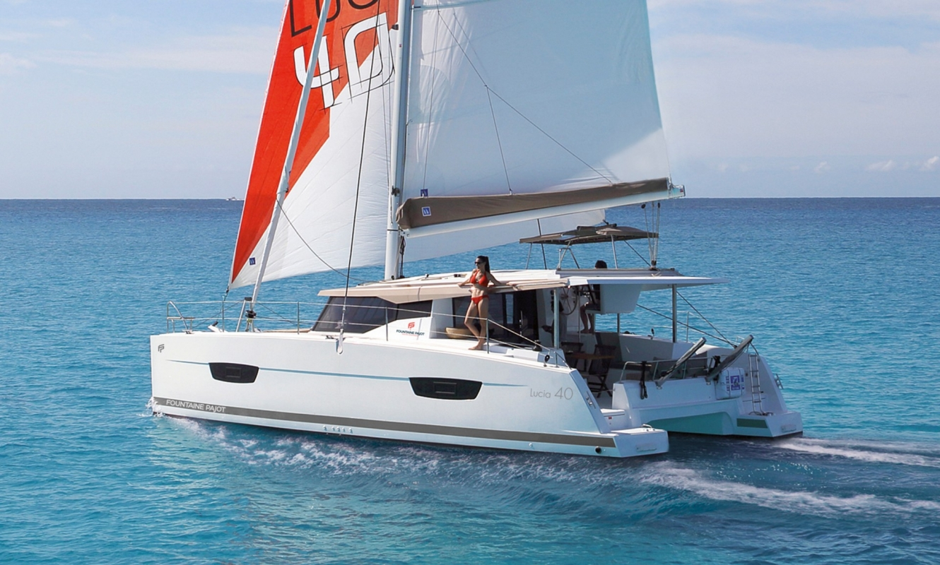 Fountaine Pajot Lucia 40 - 3 cab.