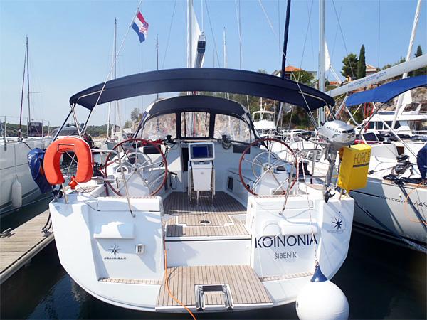 Sun Odyssey 439, Koinonia