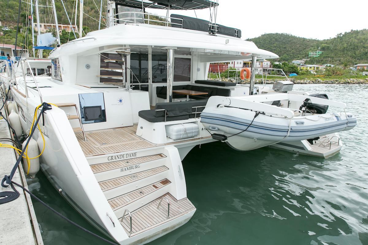 Lagoon 560 S2 - 5 cab. - Grande Dame Crewed (Cabin charter)1