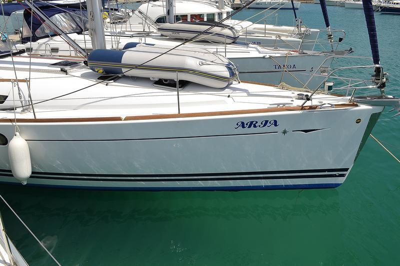 Sun Odyssey 44i, Aria