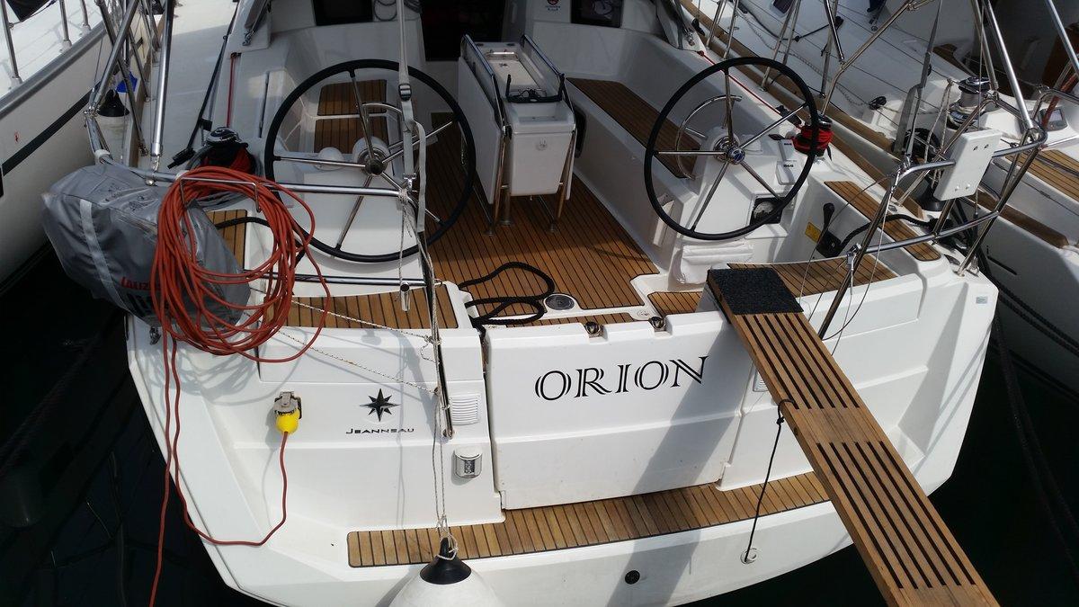 Sun Odyssey 379, Orion