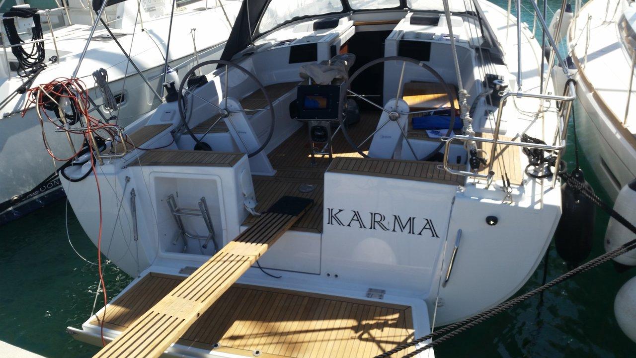 Hanse 415, Karma
