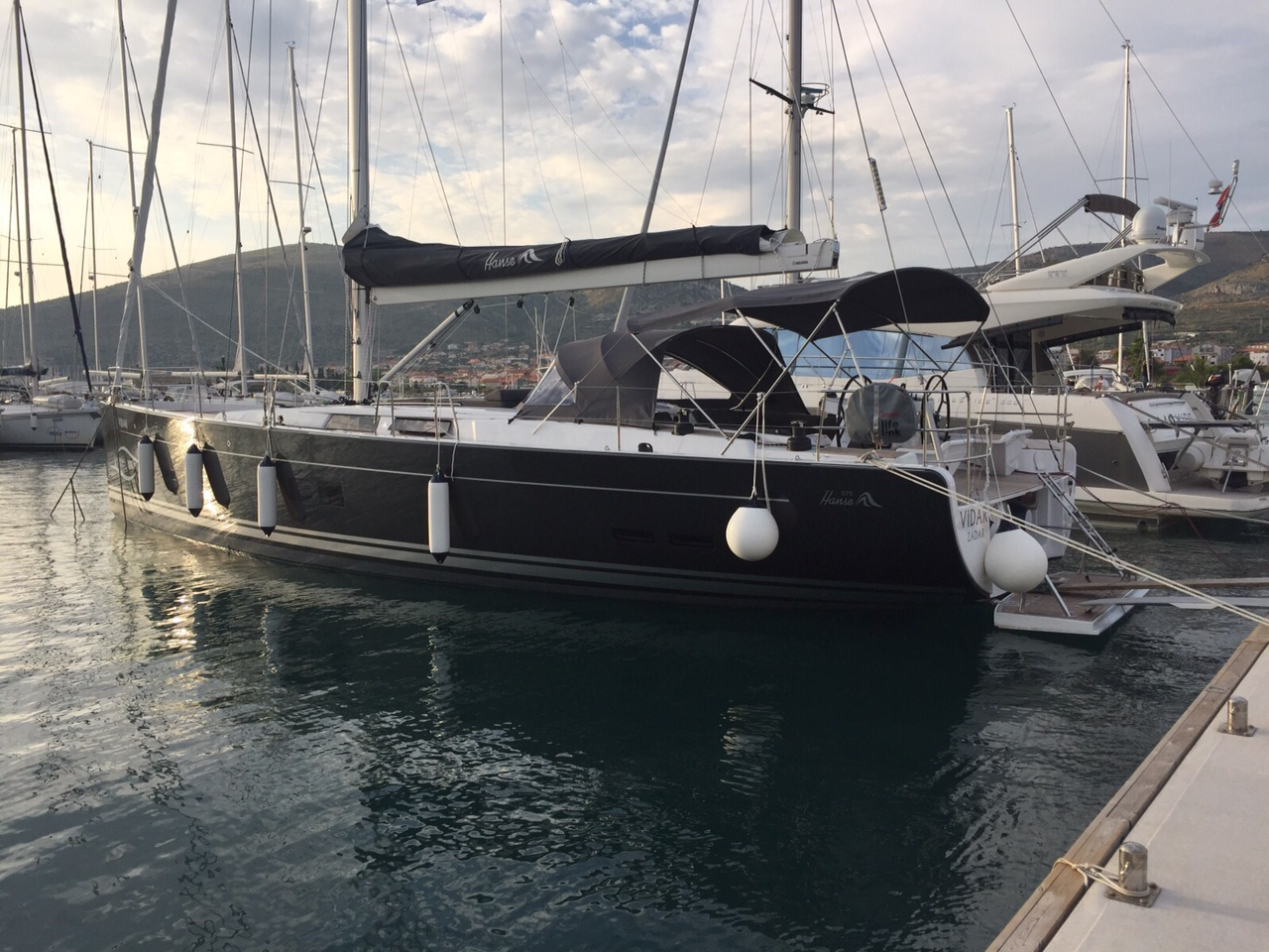 Hanse 575 - 3 + 1 cab. - Trogir, Croatia