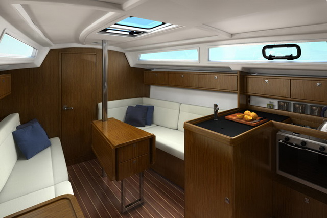 Bavaria Cruiser 33, Homeoffice