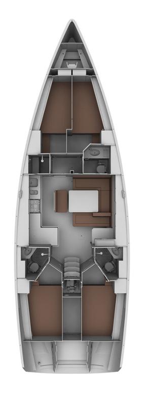 Bavaria Cruiser 45, Arta Velika