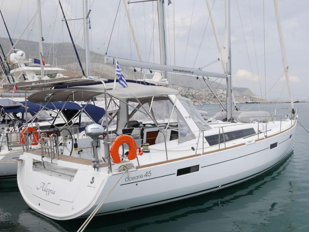 Oceanis 45 - 4 cab. - Allegria