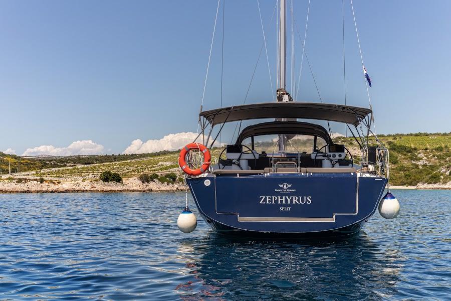 Dufour 520 GL - 3. cab - ZEPHYRUS