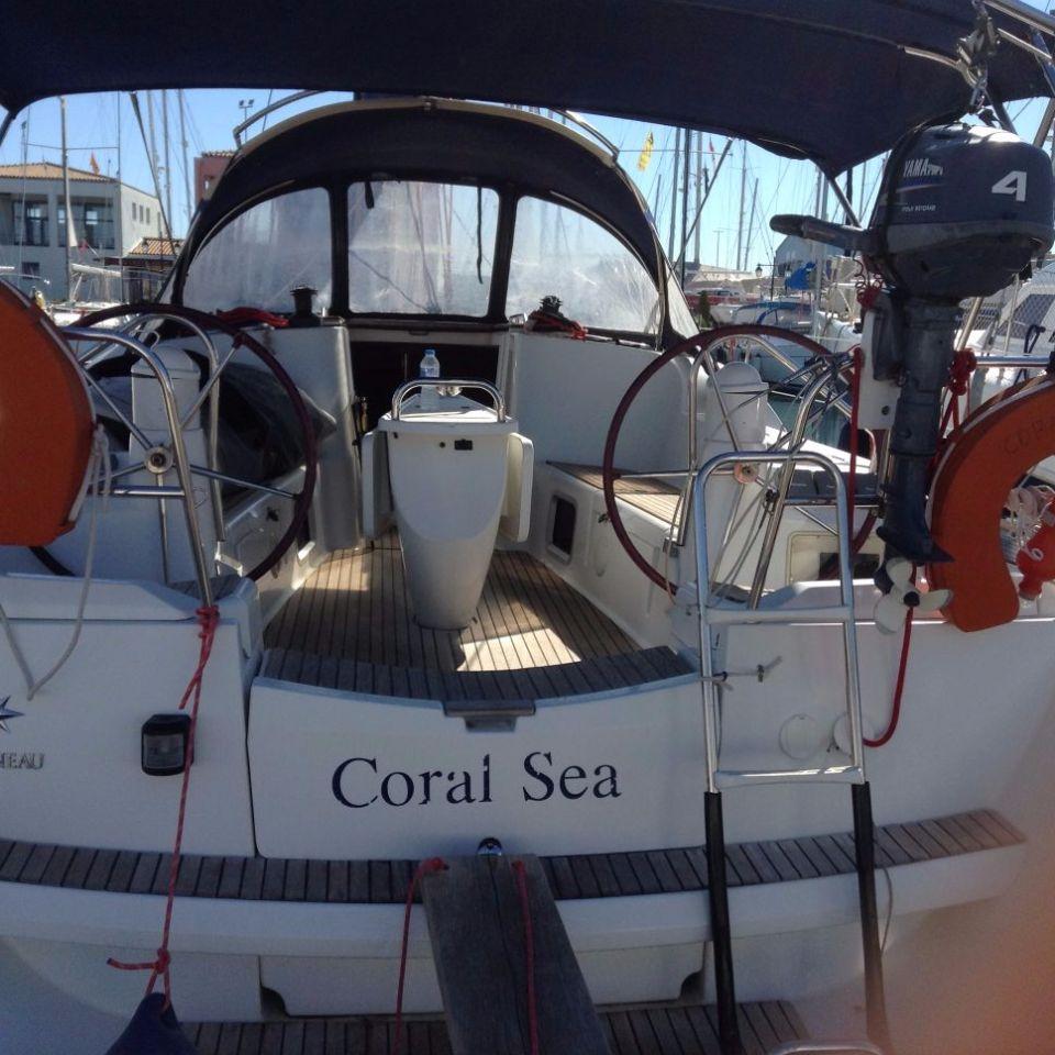 Sun Odyssey 42i - Coral Sea