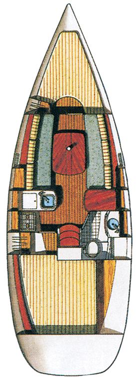 Oceanis Clipper 311, Penguin