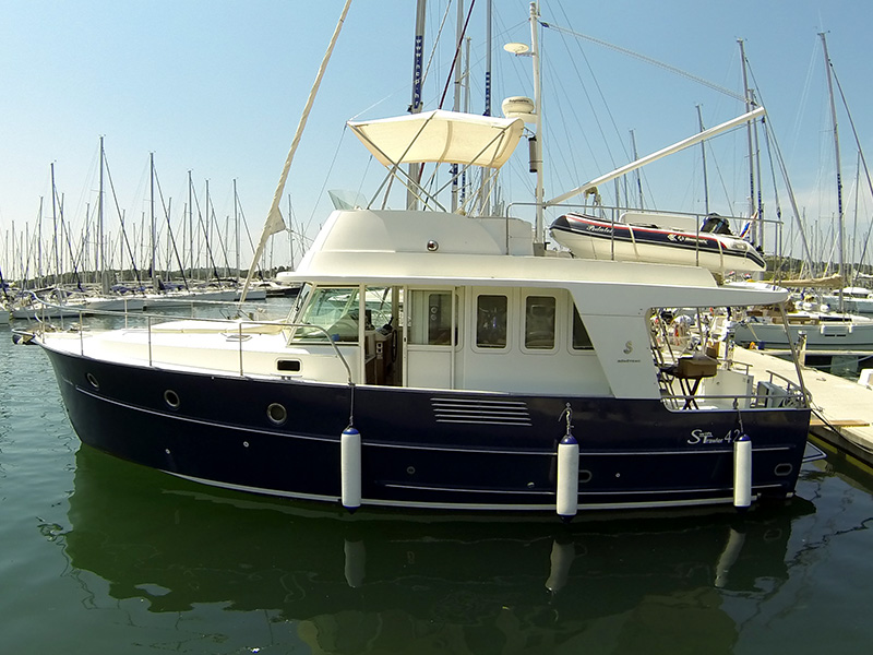 Swift Trawler 42, Podatok