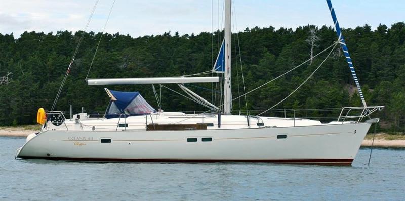 Oceanis Clipper 411 - 4 cab. (2003) - Marina Mandalina, Sibenik