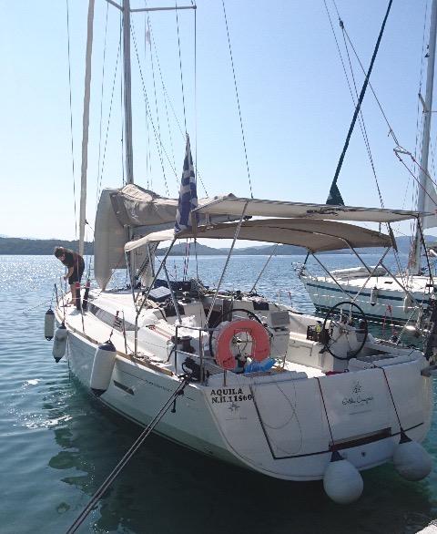 Sun Odyssey 449 (2016) - Corfu, Gouvia Marina