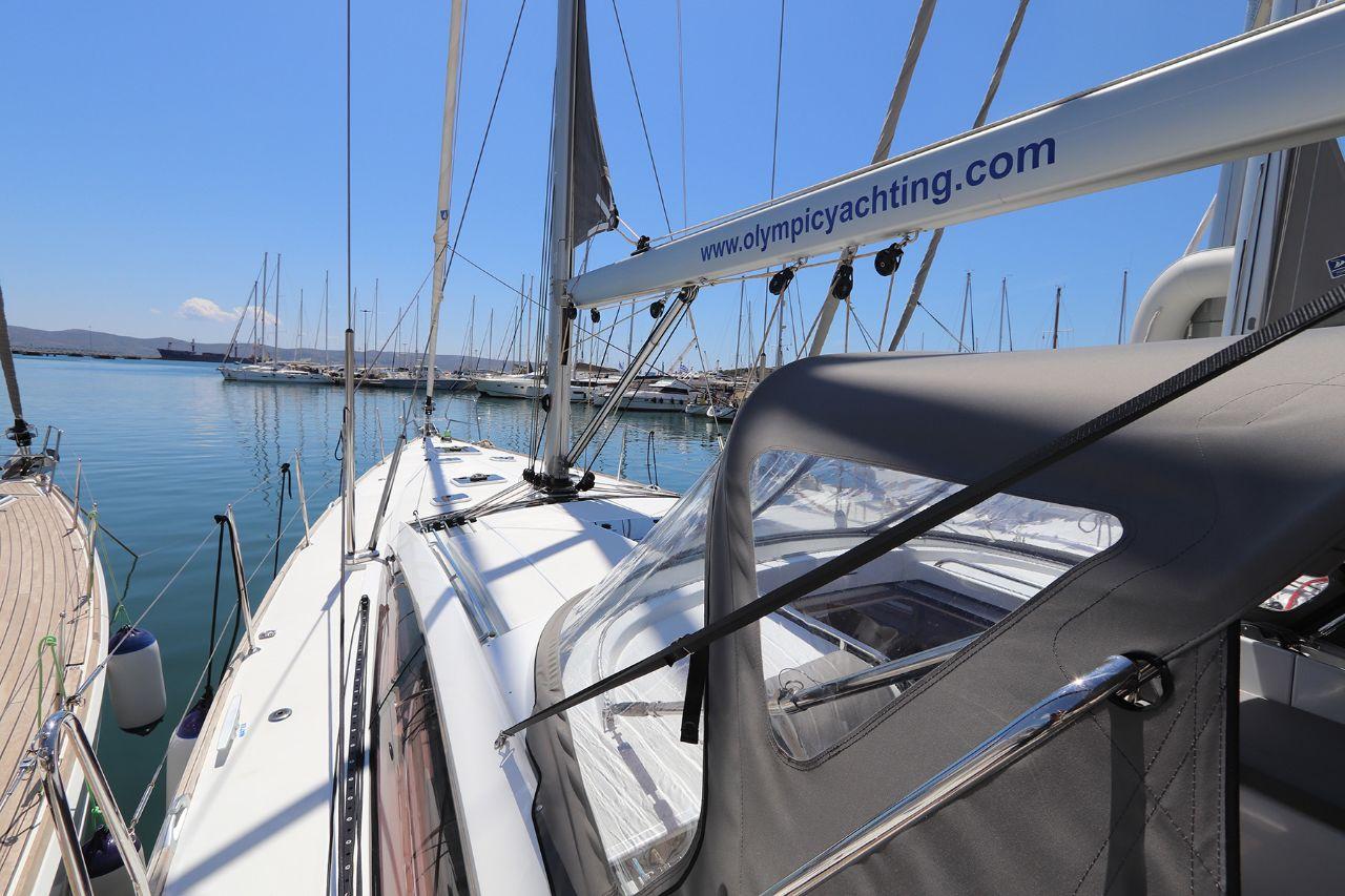 Olympic Yachting :: Jeanneau 58 - Atlas