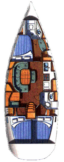 Oceanis Clipper 393, Bronzin