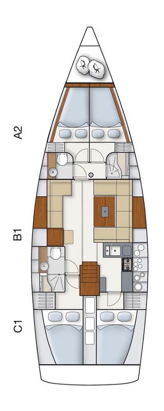 Hanse 445, Alegria III