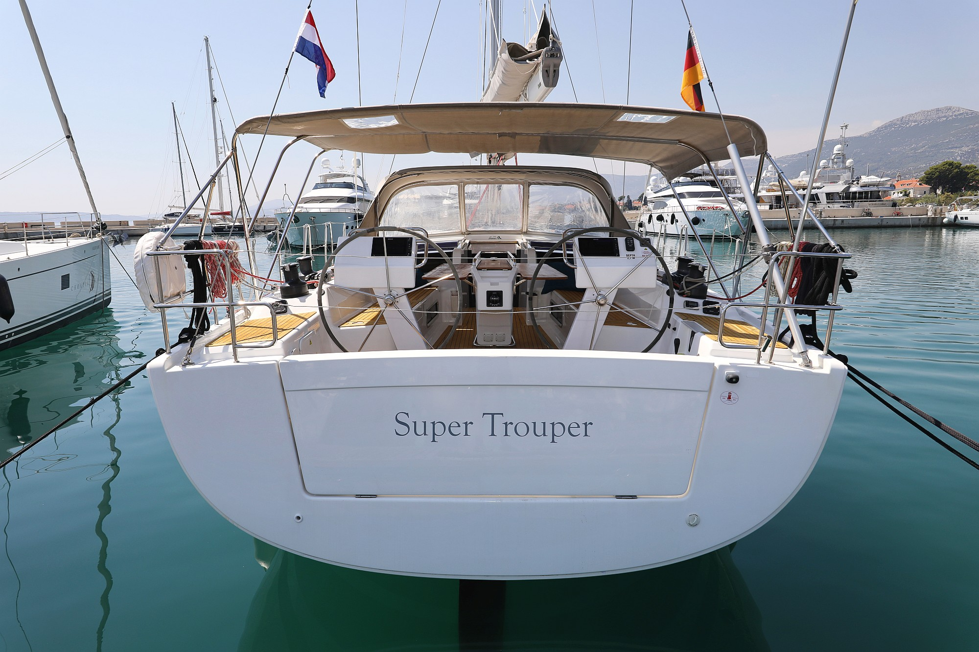 Hanse 505 - 4 + 1 cab. - Super Trouper