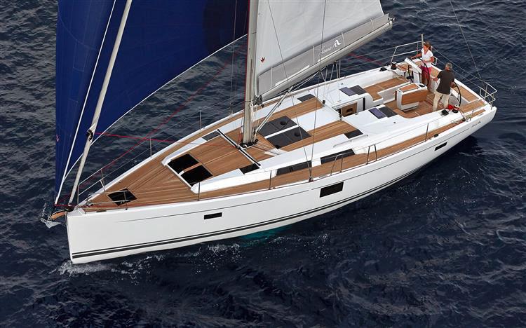 Hanse 455, Wind Rose
