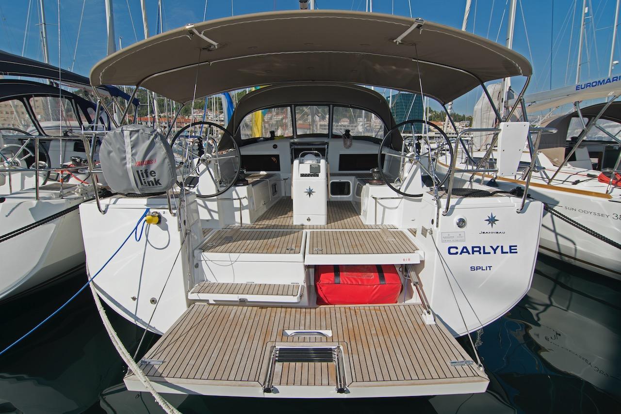 Sun Odyssey 440 - 3 cab. - Carlyle