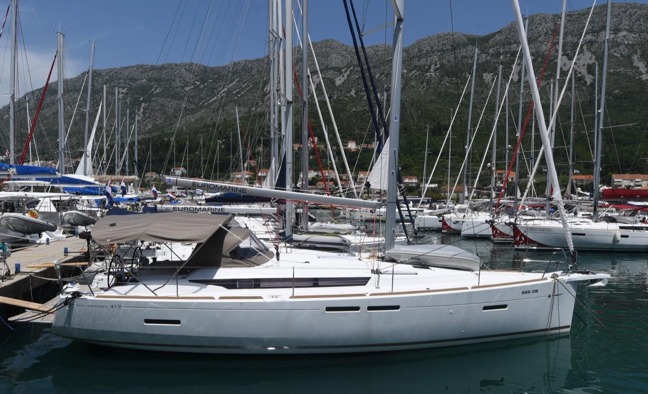 Sun Odyssey 419, Euros