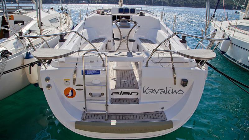 Elan 344 Impression, Kavalino