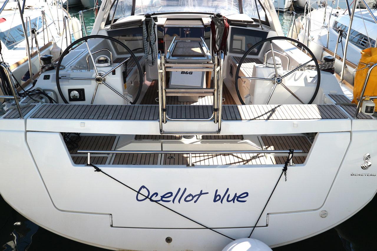 Oceanis 41 - Ocellot blue