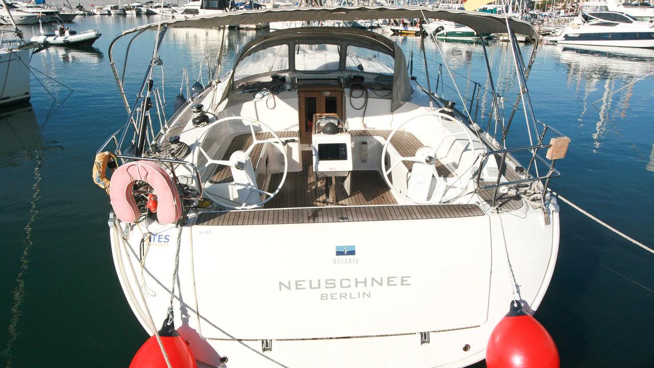 Bavaria Cruiser 51 - Neuschnee