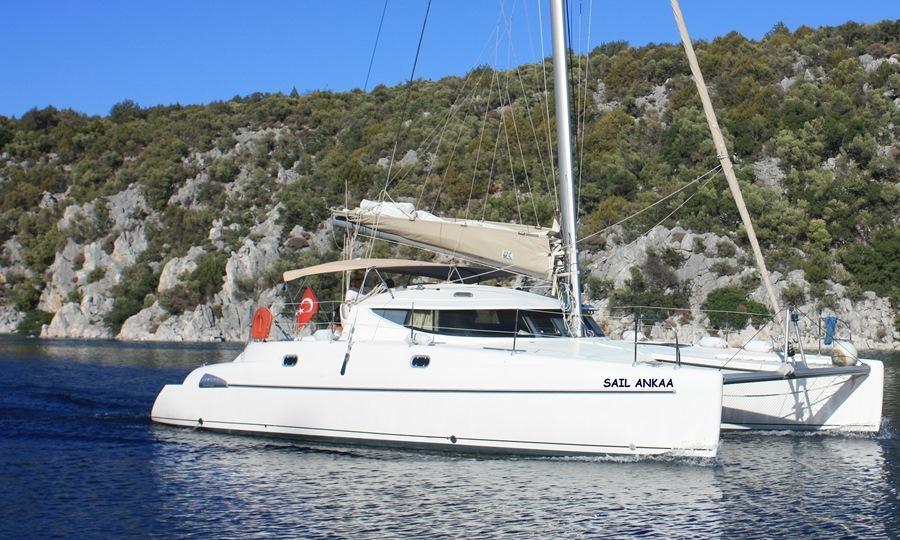 Athena 38 - 4 cab. - Sail Ankaa