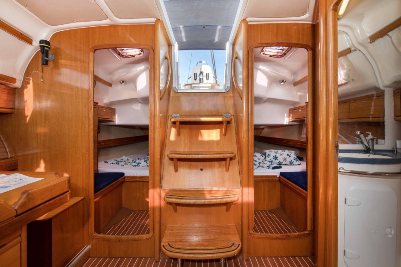 Bavaria 39 Cruiser, Essa