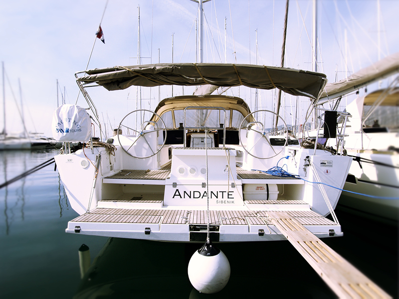 Dufour 500 GL, Andante