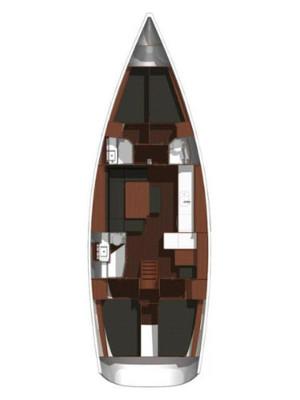 Dufour 450 GL, Comodo