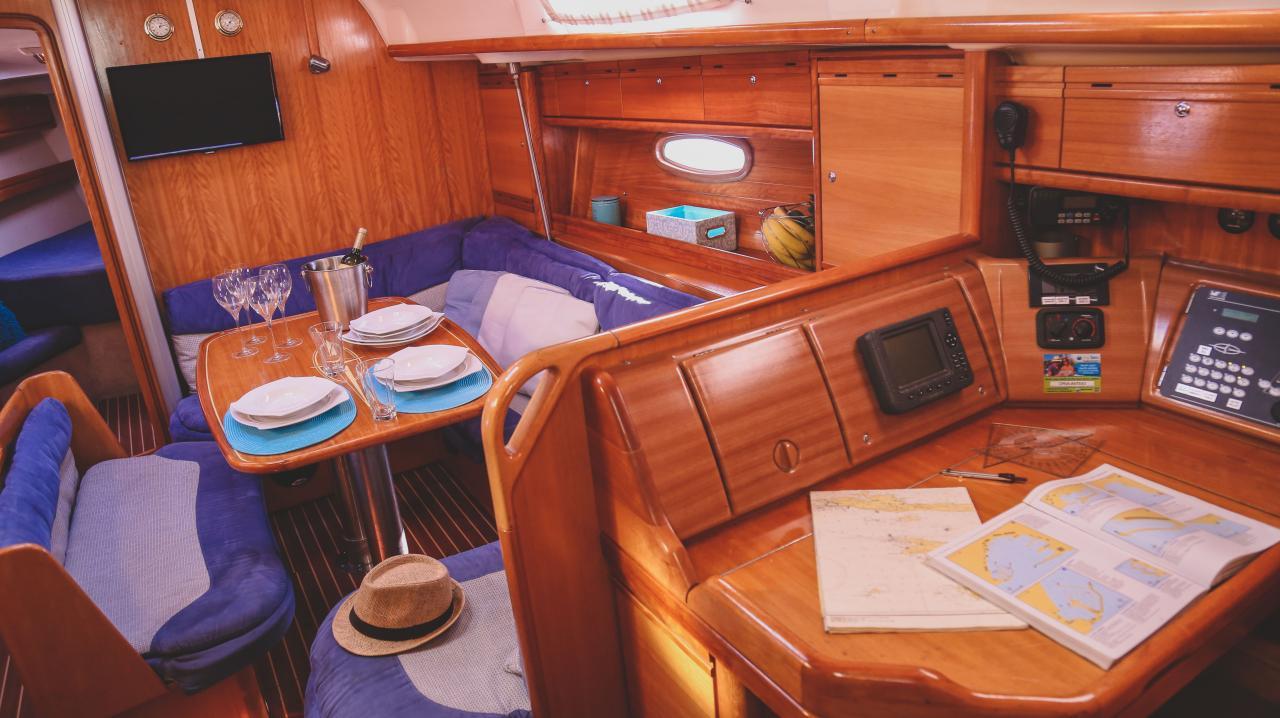 Bavaria 39 Cruiser, Ante