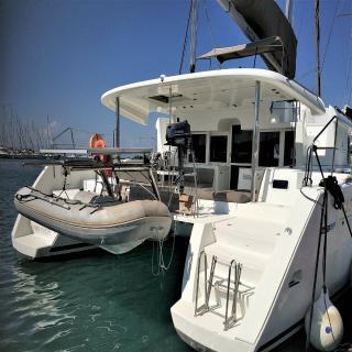 Yacht - Lagoon 450 - 4 + 2 cab.