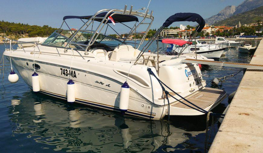 Sea Ray 330 - Makarska, Croatia