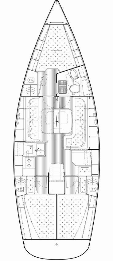 Bavaria 38 Cruiser, Grasevina
