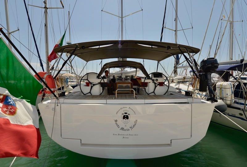 Dufour 520 GL - 4. cab - Santa Maria Novella