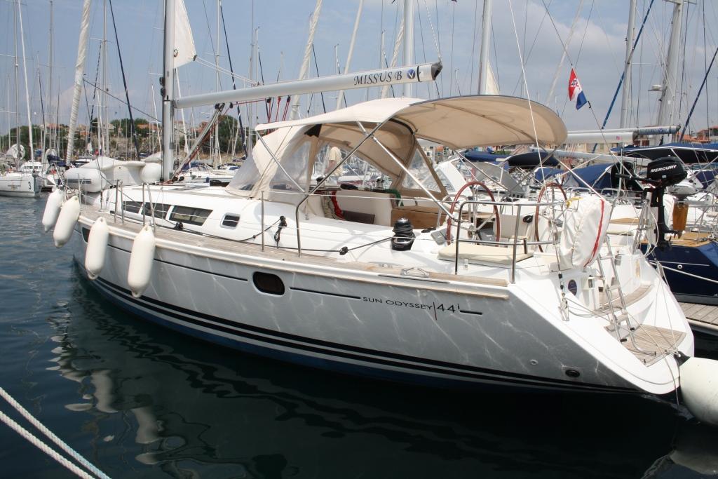 Sun Odyssey 44i - Missus B