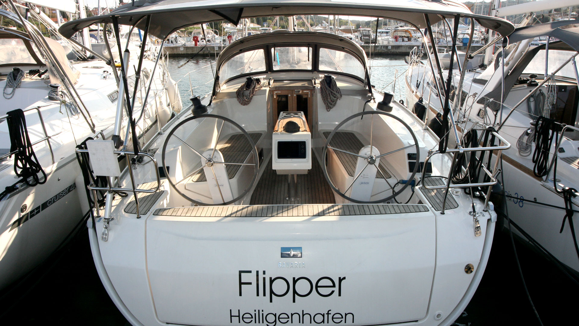 Bavaria Cruiser 41 - 3 cab. - Flipper